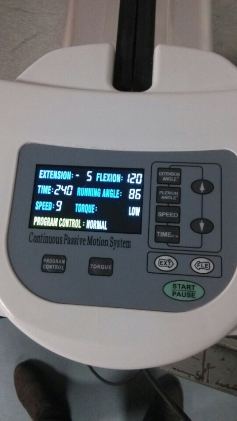 Knee Cpm Continuous Passive Motion Machines Lkj01 Rehab