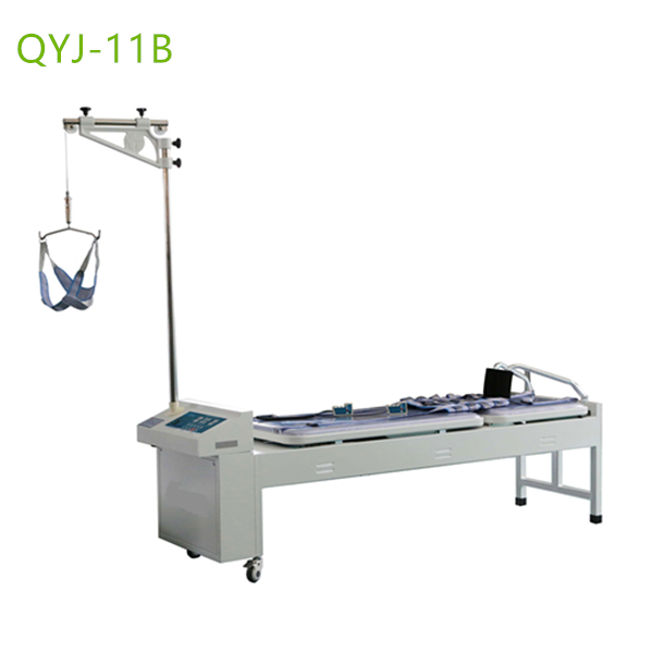 Cervical lumbar traction tables