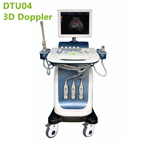 Doppler Trolley Ultrasound Machine DTU04-3