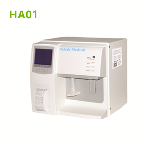 3 Part Semi Automatic Hematology Analyzer Ha01 Rehab Medical