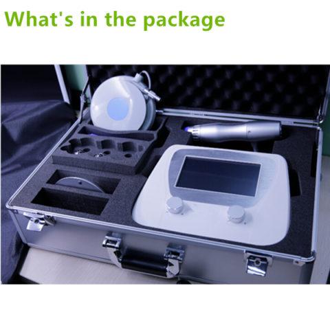 Portable Shockwave Therapy Machine No Air Compressor