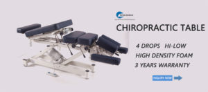 chiropractic table , electric table , hi-low chiropractic drop table