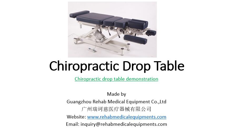 chiropractic drop table