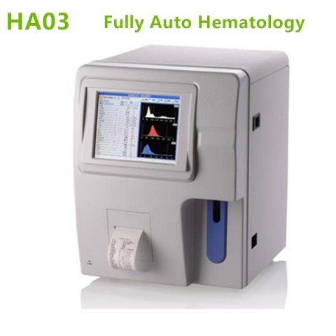 Fully Automatic Hematology Analyzer-Fasting test and 3 Part WBC-HA03